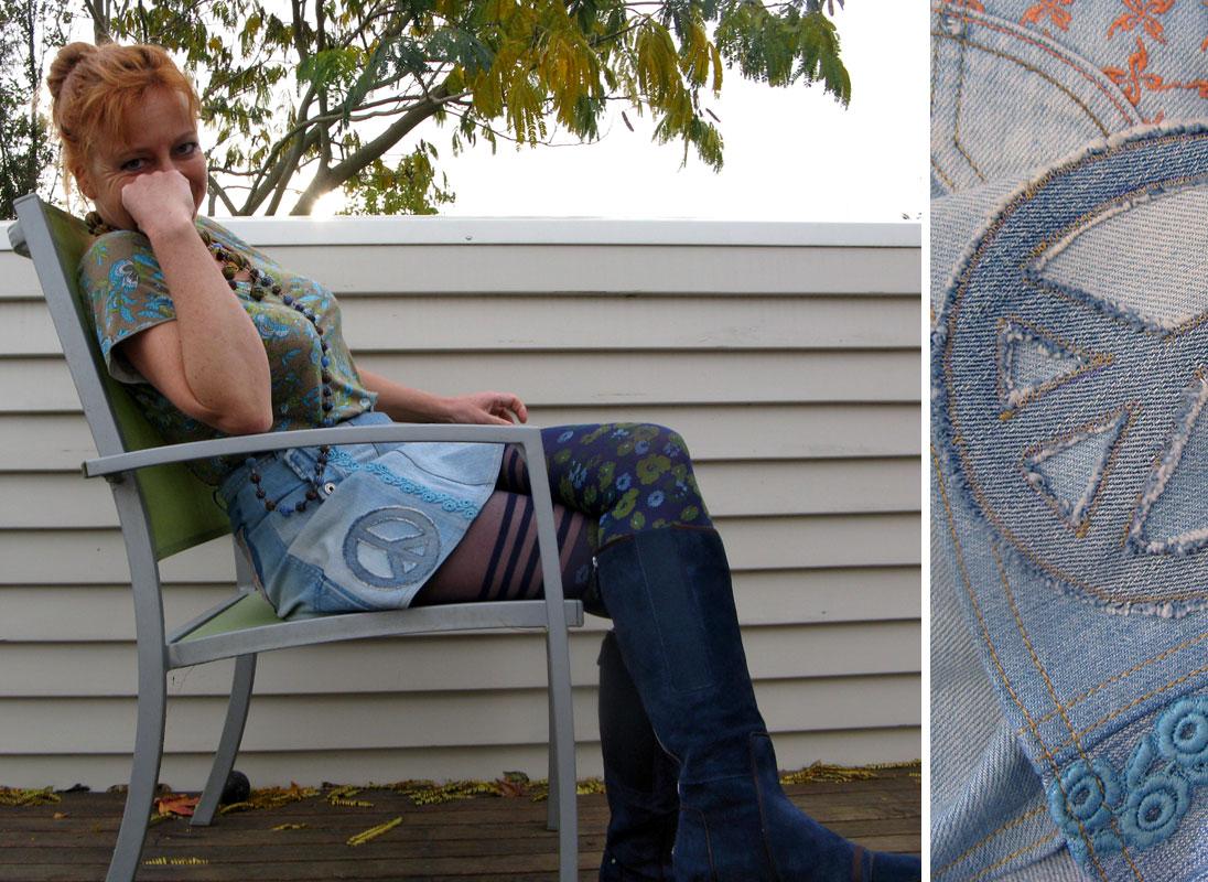 Rebuild spijkerrokje, rebuild jeans skirt