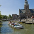 The canal tour in Alkmaar