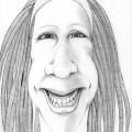 Pencil sketch, Patricia Van Lubeck