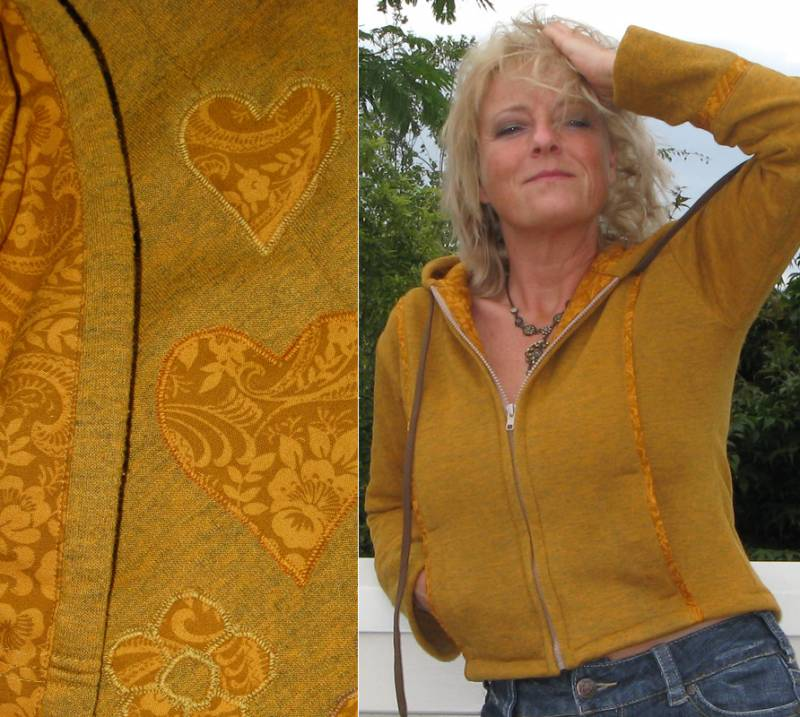 Okergele hoodie, Yellow ochre hoodie