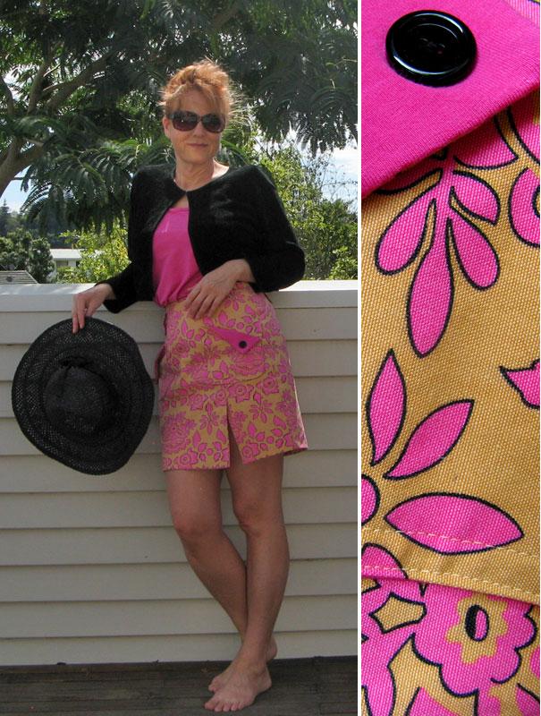 Retrorokje, retro skirt