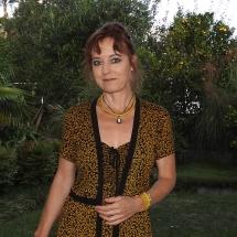 Geel zwarte smock jurk met vestje